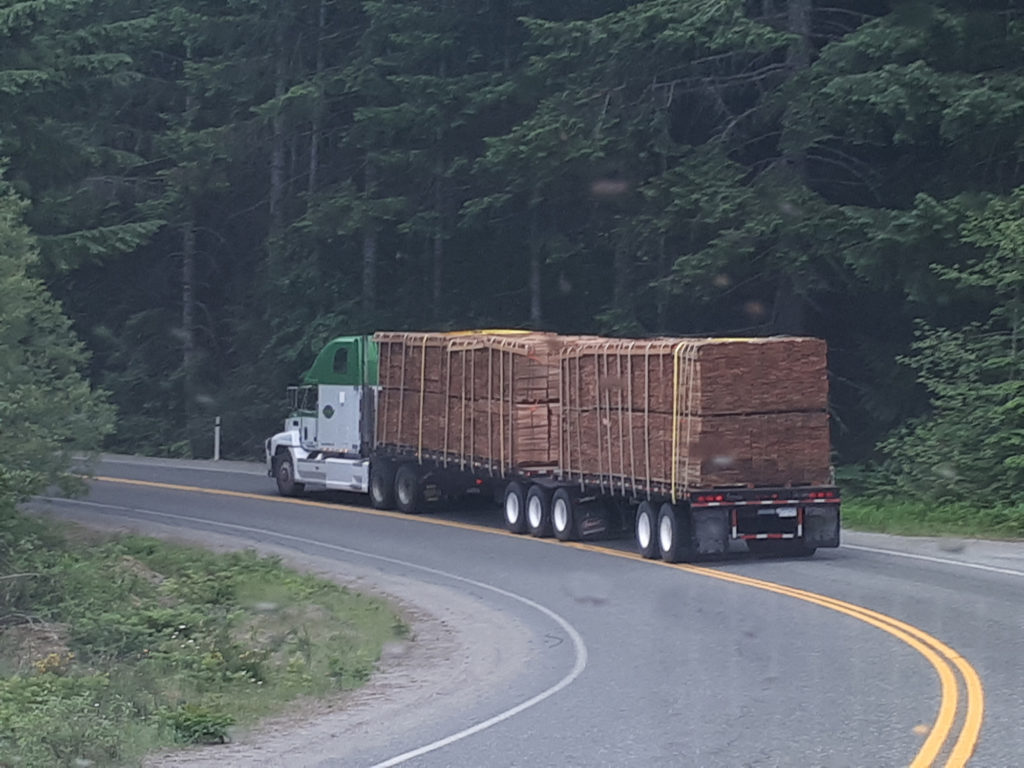 Shake load transport